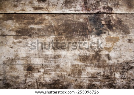 Texture of old wood - stock photo