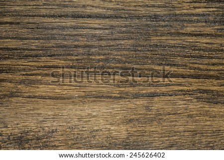 Texture of old wood with grain, used as background - stock photo