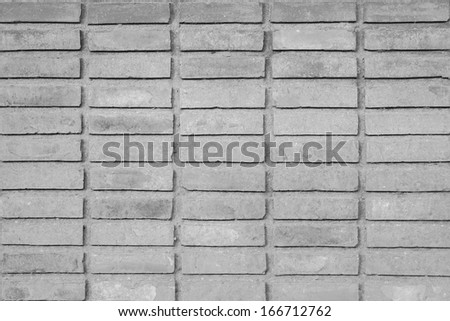 Texture of orange brick wall
