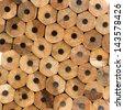 Texture of pencils - stock photo