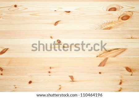 Texture of pine wood background. Top view - stock photo