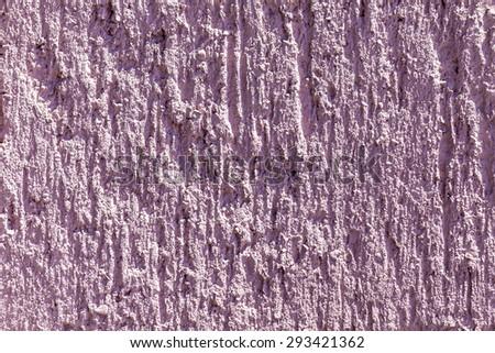 Texture of pink harmonic concrete wall - stock photo