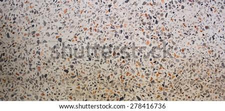 Texture of polished stone background - stock photo