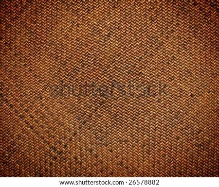 texture of rattan weave - stock photo