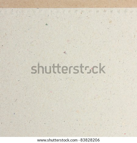 Texture of recycle paper background - stock photo