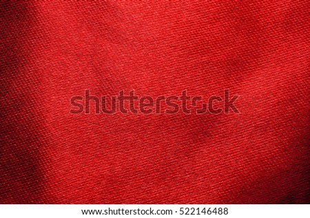 Texture Of Red Silk Fabric Wallpaper