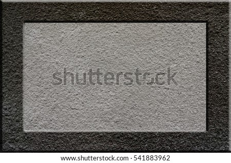Texture of rough concrete surface with bulky gray highlighted portions which can be seen on exposure to light. Preparation for the background processing of slides, spreadsheets, or info-graphic