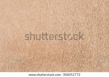 texture of sand base from construction site