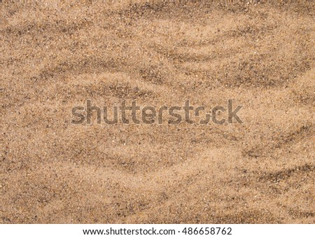texture of sand close up