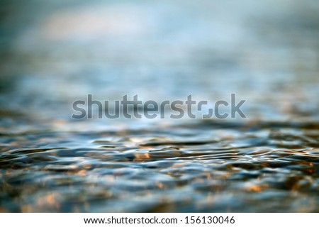 texture of sea water - stock photo
