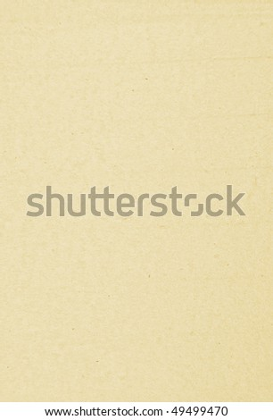 Texture of sheet of beige paper - stock photo
