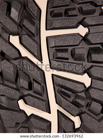 Texture of shoe soles, background - stock photo
