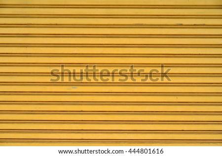 Texture of shutter door or roller door use for background. - stock photo