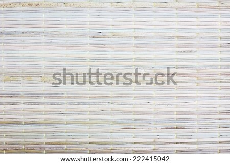 Texture of Thai styled dirty weave mat, background