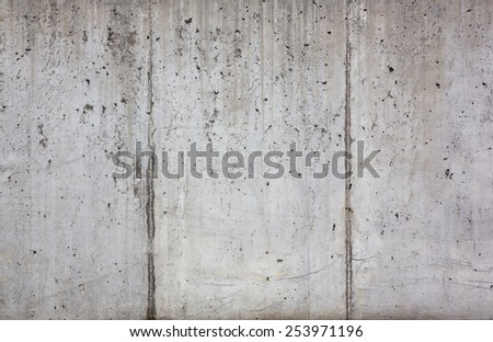 texture of the old concrete wall - stock photo