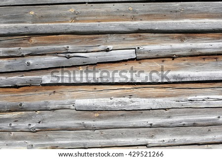 Texture of the old wood as background