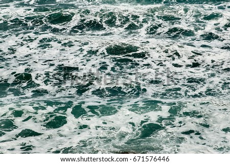 Texture of the Sea