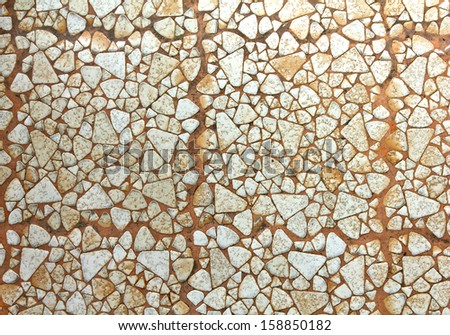 texture of the stone floor for background