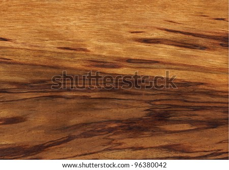 Texture of tiger etimoe (high-detailed wood texture series) - stock photo