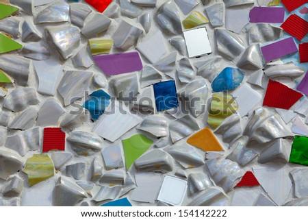 texture of tiles - stock photo
