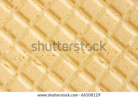 texture of wafers, macro, background - stock photo