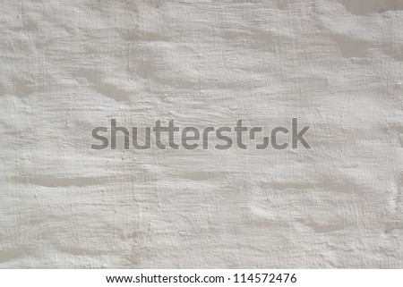 Texture of wall whitewashed - stock photo