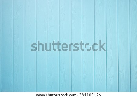 Texture of Wood blue panel for background vertical