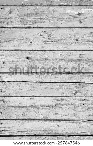texture of wooden board with deep pattern - stock photo