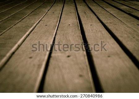 texture of wooden floor background - stock photo