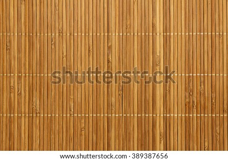 Texture of woven bamboo. Bamboo napkin, tatami floor. Background texture of natural bamboo. - stock photo