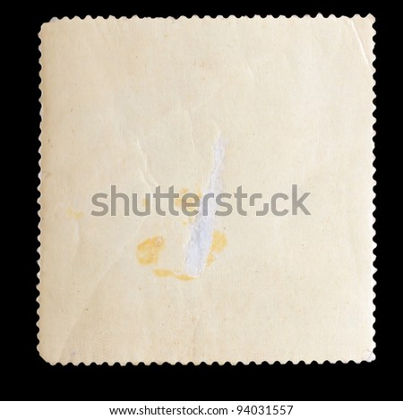 texture old paper background stamp - stock photo