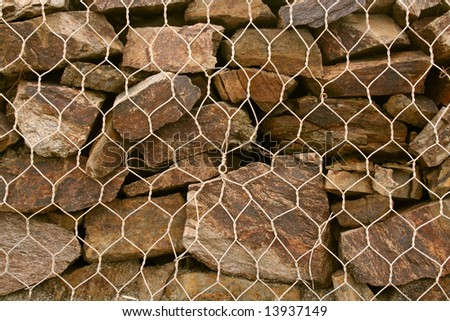 texture or background of a stone wall - stock photo