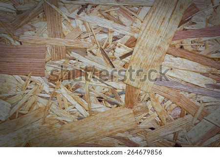 texture (orientated strand board), engineered wood product - stock photo
