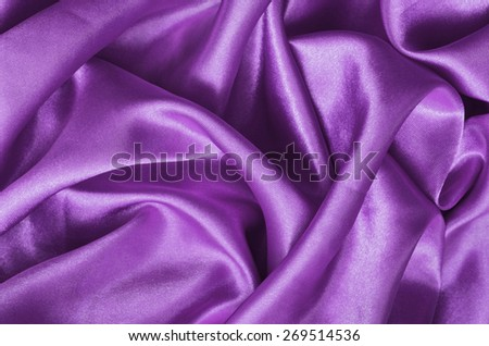 Texture pink satin, silk background - stock photo