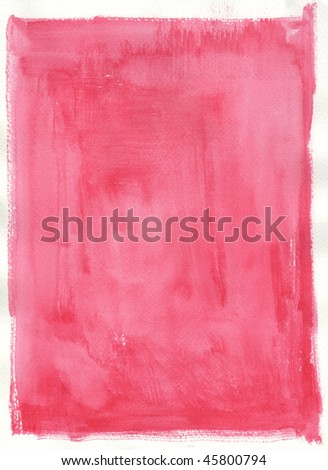 texture red pink watercolor background painting -  with space for your design - stock photo