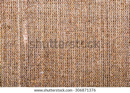 Texture sack sacking country to use as background - stock photo