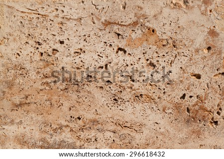 Texture stone section