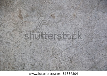texture surface of concrete wall cracked