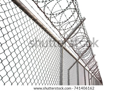 Texture Cage Metal Net Isolate On Stock Photo (100% Legal Protection ...