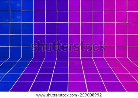 texture tile more color - stock photo