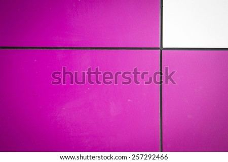 texture tile pink color - stock photo
