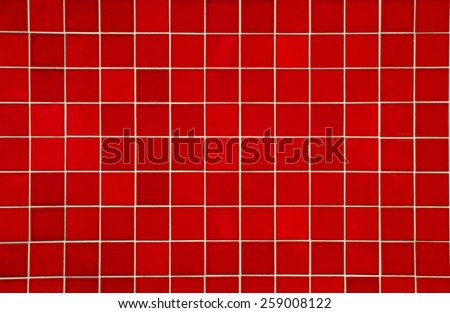 texture tile red color - stock photo
