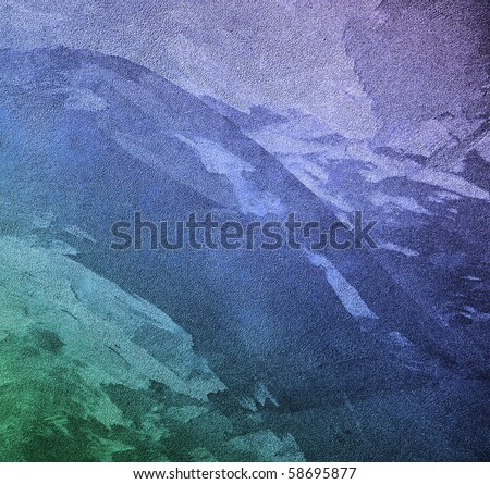 texture turquoise background with granules - stock photo