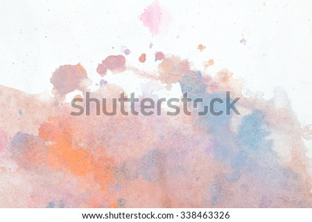 texture water color pastel - stock photo