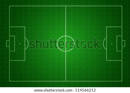Textured a football pitch (soccer pitch) - stock photo