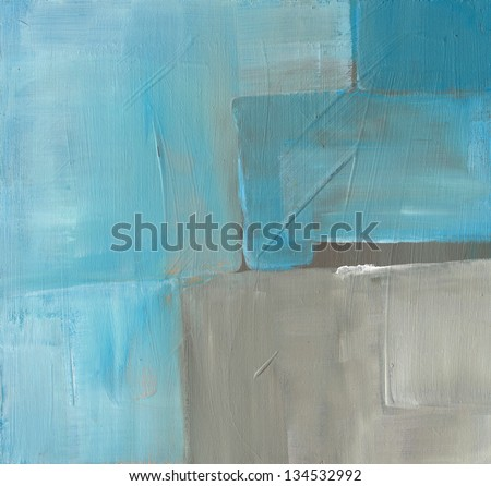 Textured abstract background. Hand painted. - stock photo
