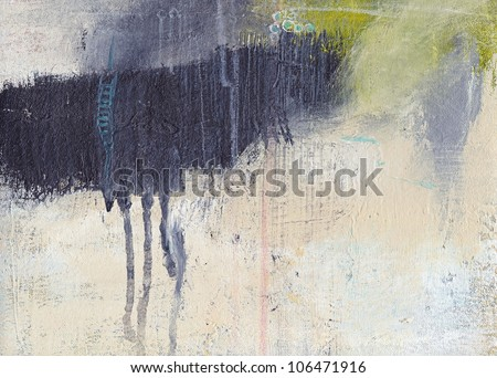 Textured abstract painting. Hand painted background. - stock photo
