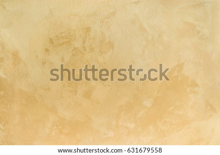 Decorative Plaster Walls, External Decoration Of Facade. Texture Of Beige.