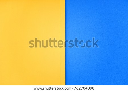 Textured Background Wall Painted Two Colors Stock Photo (Royalty ...
