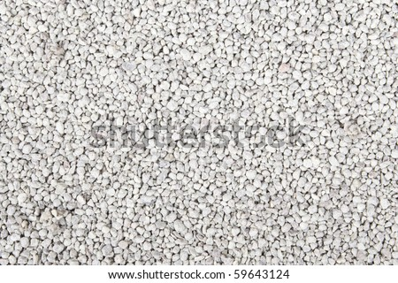 Textured bentonite cat litter Macro shot